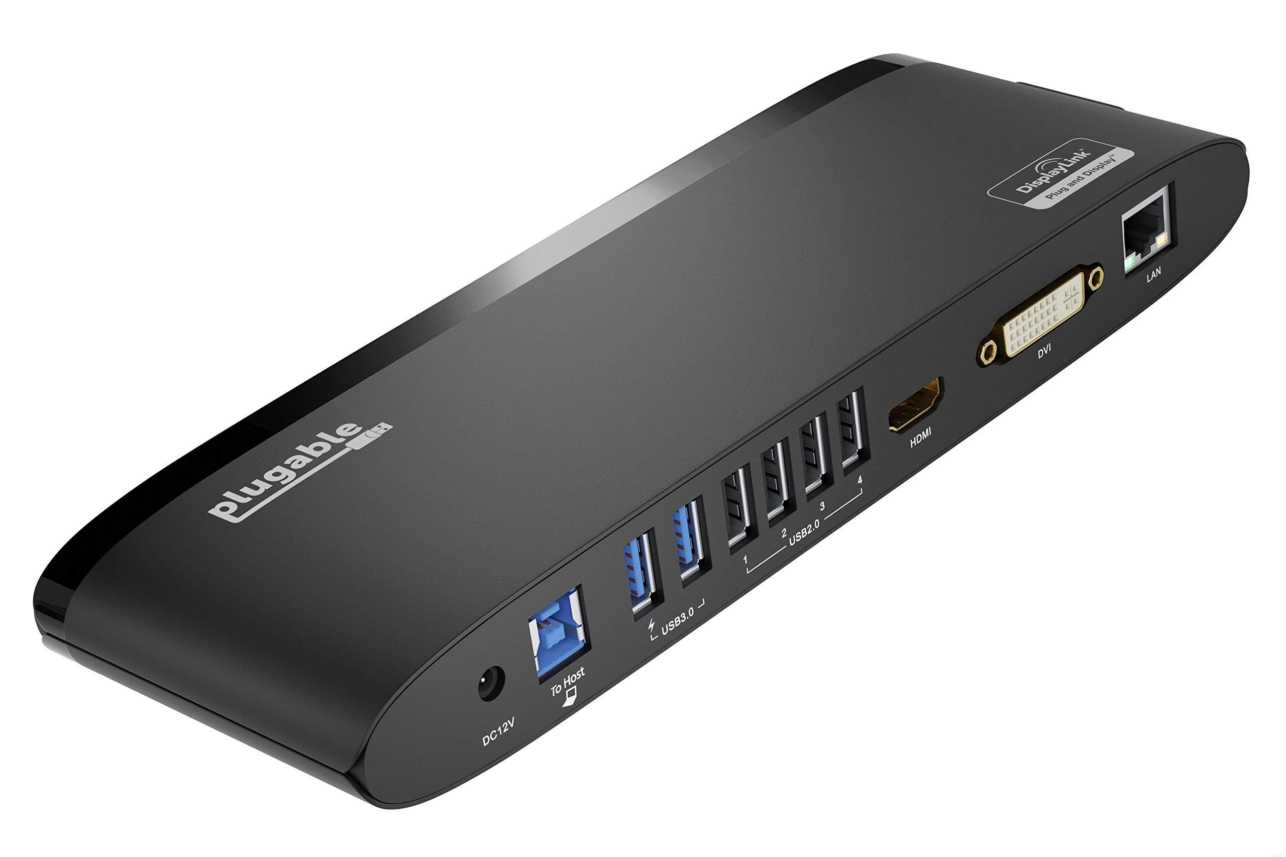 Plugable Monitor Horizontal Docking Ethernet