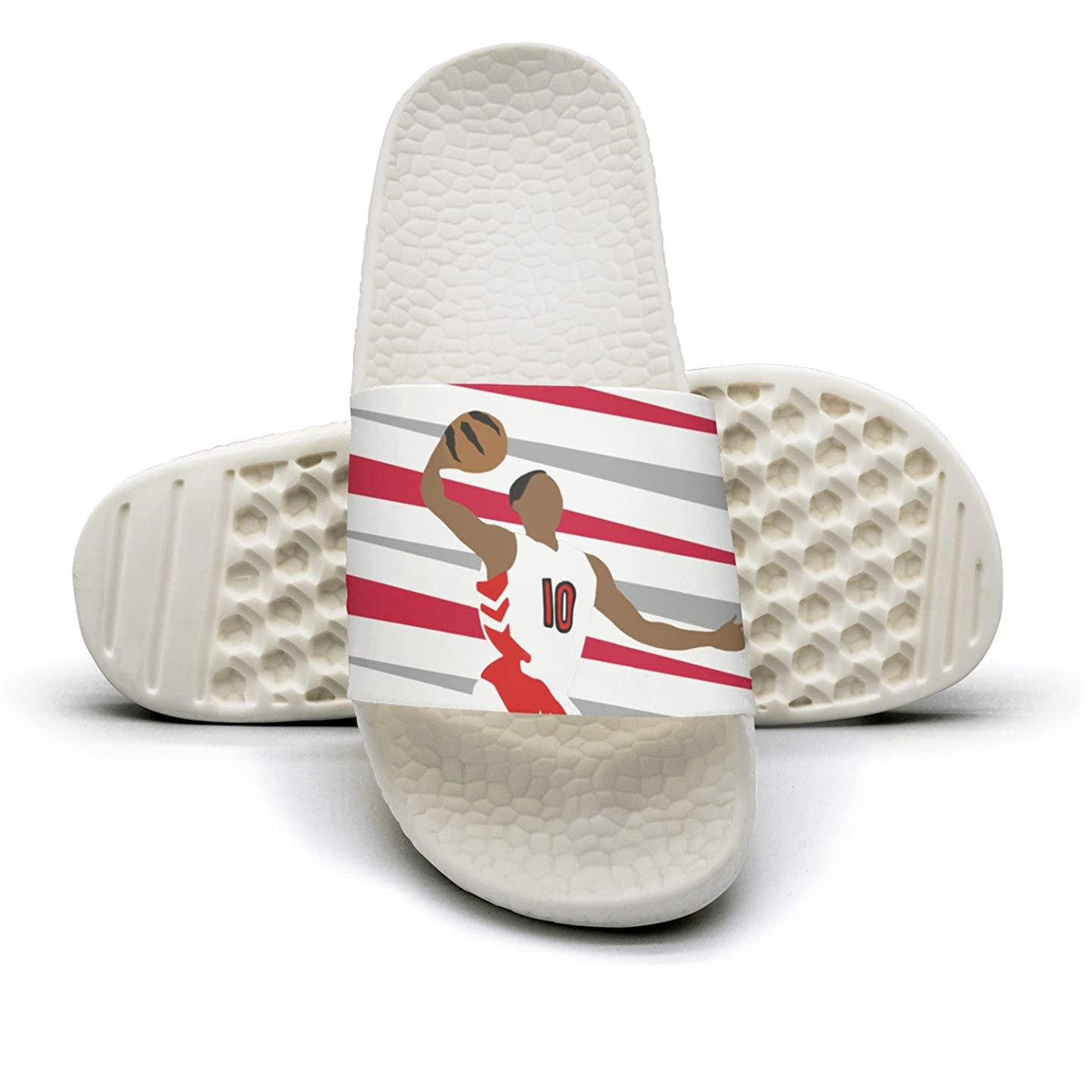 California Basketball Team Player Non-Slip Outdoor Sandals Flip Flops For Women