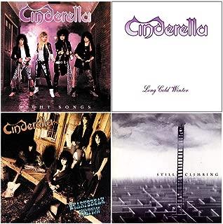 Cinderella: Complete Studio Album Discography - 4 CDs (Night Songs / Long Cold Winter / Heartbreak Station / Still Climbing)