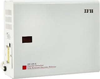 IFB IVS 1455A 130-305V Voltage Stabilizer (White, Metallic Finish)
