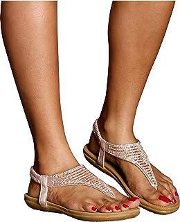 a08c141d51af89 Lucita Women s Shen Traingle Rhinestone Sandals