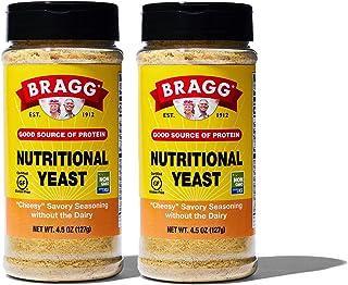 Bragg Nutritional Yeast Seasoning – Vegan, Gluten Free Cheese Flakes – Good Source of Protein & Vitamins – Nutritious Savo...