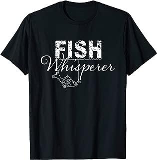 Fish Whisperer Fishing T Shirt Men Boys Women Christmas Gift