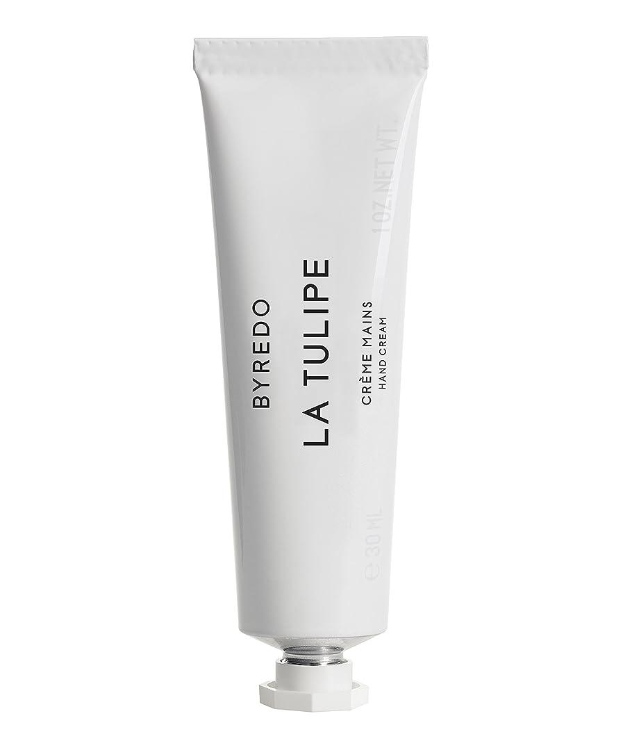 添加剤バンガローシニスByredo Hand Cream La Tulipe 30ml - ハンドクリームラチューリップの30ミリリットル [並行輸入品]