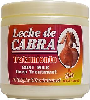 MBP Q & S Leche De Cabra Goat Milk Deep Treatment 16oz