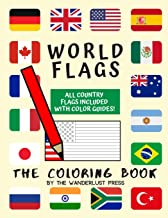 World Flags: The Coloring Book: A great geography gift for kids and adults: Color in flags for all countries of the world with color guides to help. … creativity, stress relief and general fun. PDF