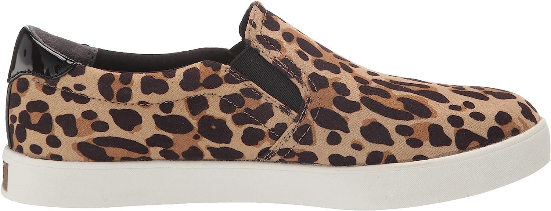 Dr. Scholl's Shoes Women's Madison Sneaker Tan Black Leopard Microfiber fPTz1L
