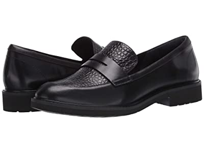 Rockport Total Motion Abelle Penny (Black Croco) Women