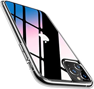 TORRAS iPhone 11 Pro用 ケース 9Hガラス背面 TPUバンパー 高透明 日本旭硝子製 滑り止め 黄変防止 耐衝撃 三層構造アイフォン 11 Pro用 5.8インチ ガラスカバー クリア Fancy Series
