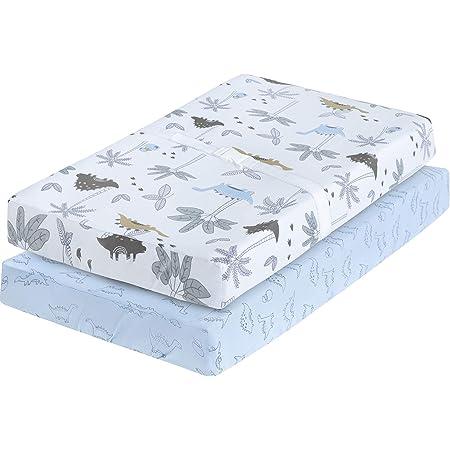 Changing Pad Cover Standard  IKEA Vadra Change Pad Mini Blue Dinosaur