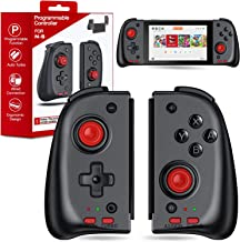Kydlan Joy Pad Controller for Nintendo Switch, Enhanced Split Joy Pad Compatible for Switch Console, Full Size Controller ...