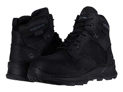 Wolverine ShiftPLUS Work LX 6 Alloy-Toe Boot (Black) Men