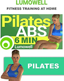 Pilates AB Workout - 6 Minute ABS - Fast and Easy