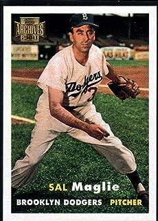 Baseball MLB 2001 Topps Archives #97 Sal Maglie 57 Dodgers