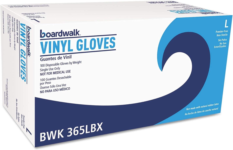 BWK365LBX - Boardwalk General Purpose Vinyl Gloves