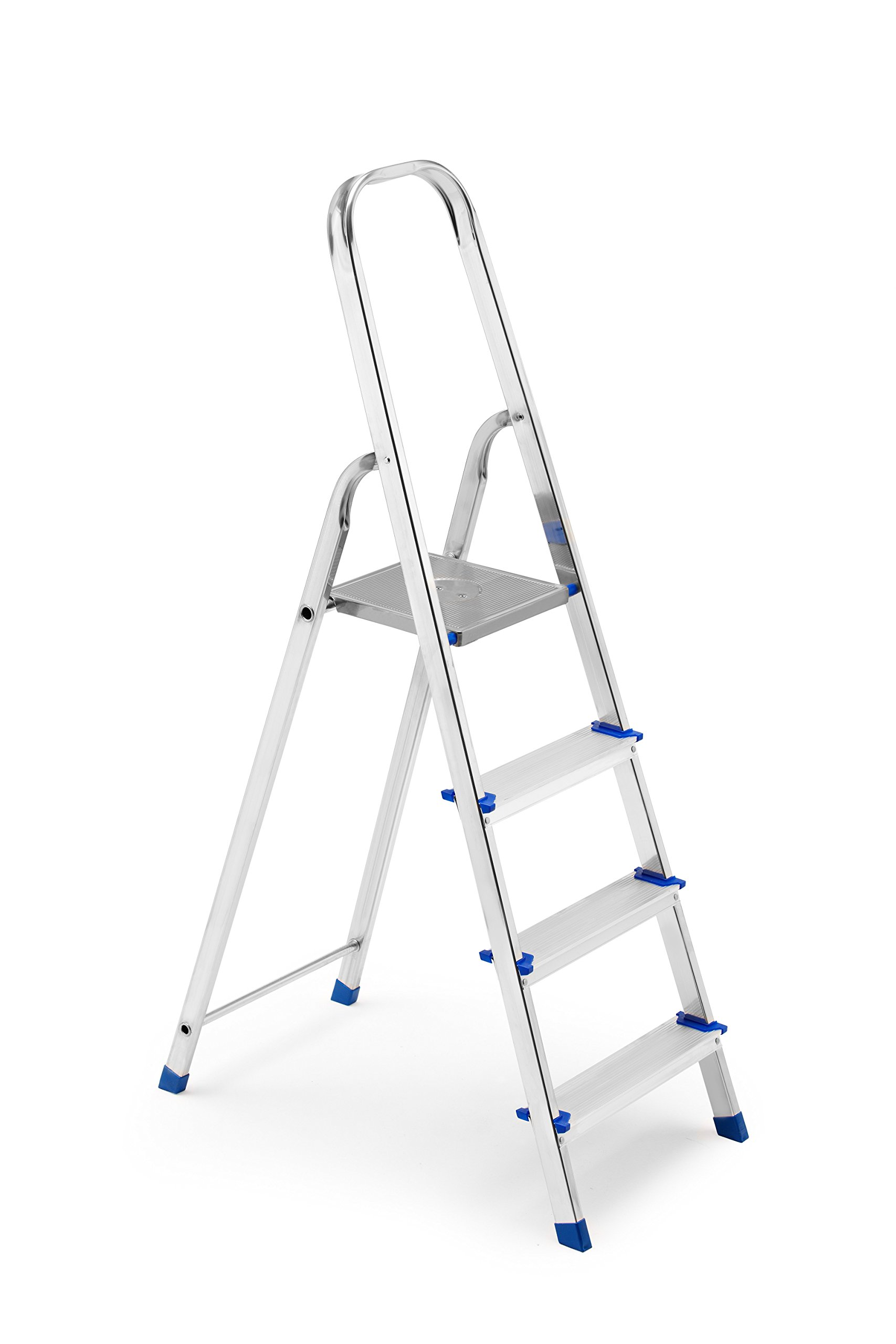 FRAMAR Europiuma 4 Escalera doméstica de Aluminio, 4 Peldaños: Amazon.es: Hogar