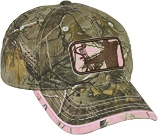 Ladies Major League Bowhunter Realtree Xtra/Realtree APC Pink Hunting Hat