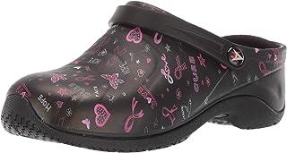 AnyWear Women's Zone Health Care Professional Shoe, Lhop/Black, 11W Wide US