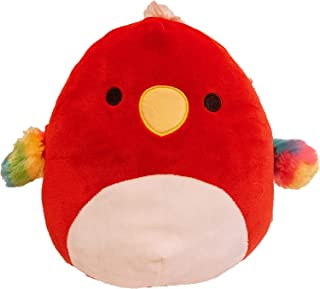 Squishmallows Official Kellytoy Plush 8 Inch Squishy Soft Plush Toy Animals (Paco Parrot)