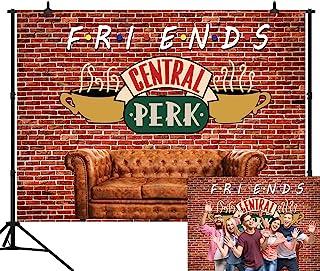 CapiSco 3,6 x 3 m roter Ziegelmauer Hintergrund für Partys, Partys, Sofas, Cafés, Fotografie, Hintergrund für Herren und Damen, Erwachsene, Geburtstagsfeier, Portraits, Fotostudio, Hintergrund SCO145F