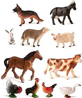Miniland Granja 11und Bote figuras animales, 11 unidadses, c