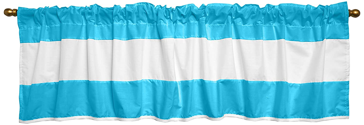 Baby Doll Max 51% OFF Sweet Manufacturer direct delivery Lodge Collection Valance in Window Aqua