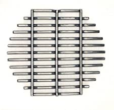 Aura Outdoor Products Stainless Steel Charcoal Fire Grate for Kamado Grill Regulator