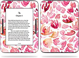 MightySkins Skin Compatible with Barnes & Noble Nook GlowLight 3 (2017) - Pink Petals | Protective, Durable, and Unique Vinyl Decal wrap Cover | Easy to Apply, Remove | Made in The USA