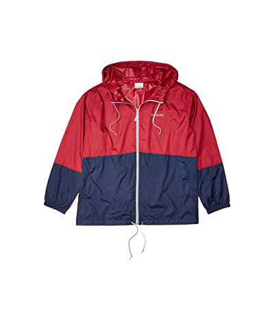 Columbia Plus Size Flash Forwardtm Windbreaker (Red Orchid/Nocturnal/Cirrus Grey) Women
