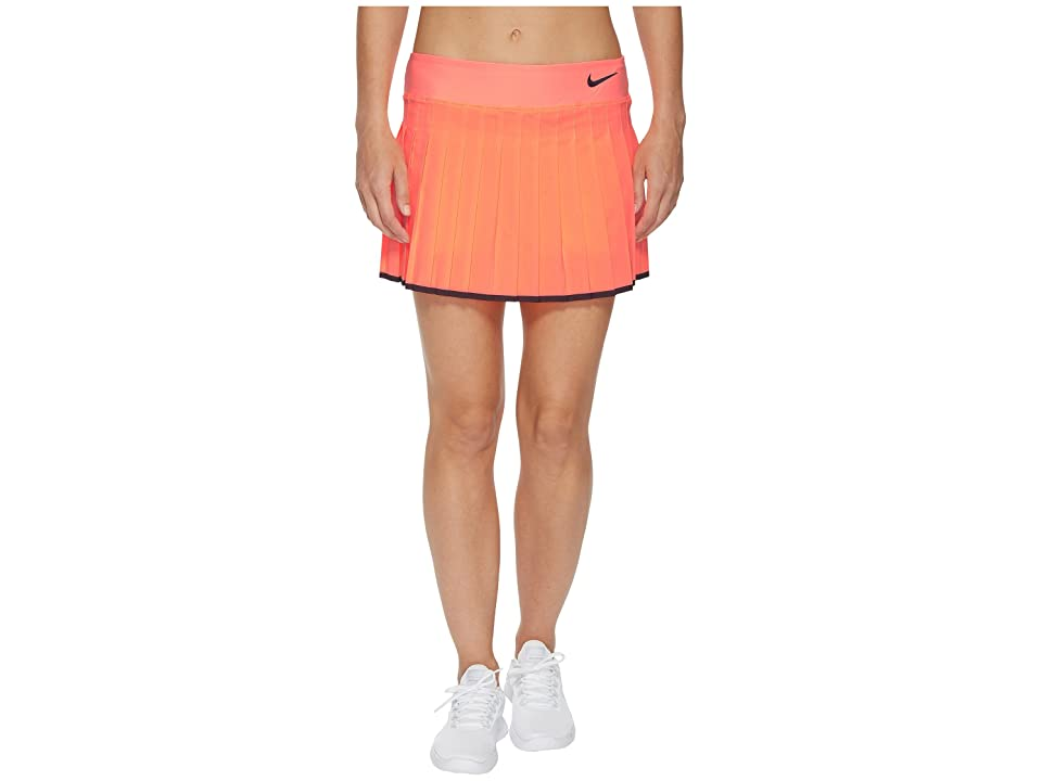 Nike Victory Skirt (Lava Glow/Black) Women
