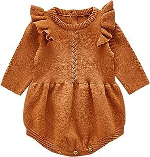 طفل الفتيات الفتيان الشتاء محبوك منزعج السروال القصير الرضع القطن الحياكة البلوز سترة بذلة (Color : BW, Size : 100)