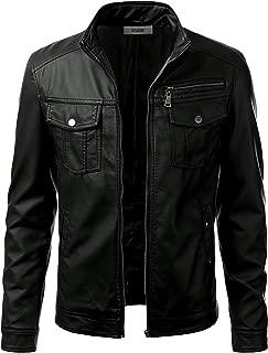 Best men's faux leather jacket Reviews