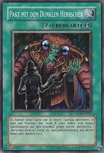 DCR-DE030 - Pakt mit dem dunklen Herrscher - Common - Yu-Gi-Oh - Deutsch - 1. Auflage