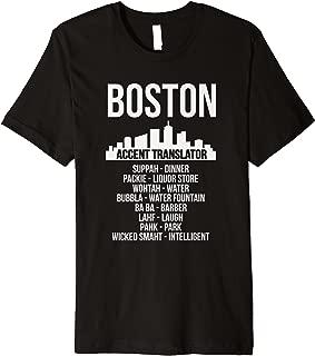 Funny Boston Accent Translator T-Shirt