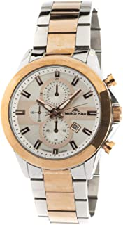Marco Polo Wrist Watch for Men Stainless Steel
