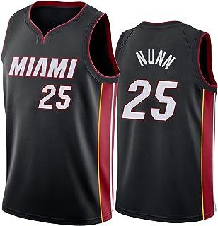 ŽiamiHeaşKenırickńunn#25メンズ 肌に優しいメッシュノースリーブスポーツのスポーツのトレーニングジャージバスケットボールジャージイースターギフト black-XL