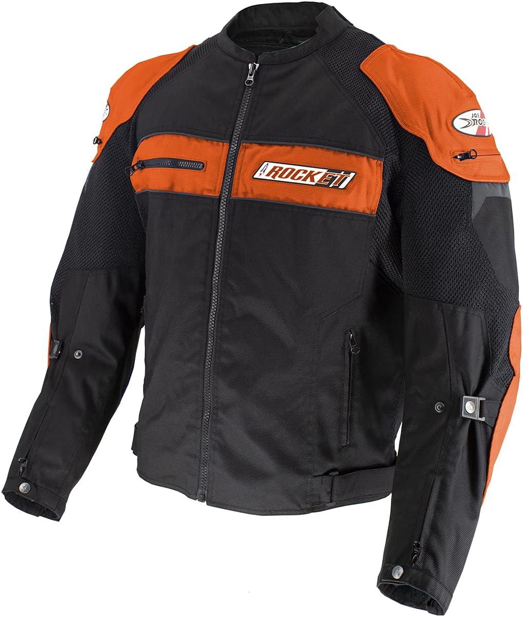 Joe Rocket Men's San Jose Mall Dayride Orange 3X Black Super Special SALE held Jacket