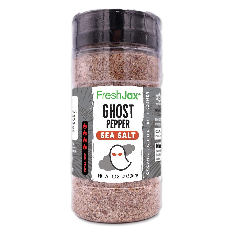 FreshJax Premium Gourmet Ghost Pepper Finally resale Year-end gift start Salt Hot Sea Spice Blend