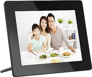 Dragon Touch デジタルフォトフレーム WiFi 8インチデジタルフレーム フルHD1080P 壁掛け式フォトフレーム 16GB内蔵メモリ 写真/音楽/動画再生/天気予報/カレンダー/アラーム機能付き 良いプレゼント Classic 8
