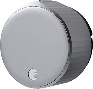 August Wi-Fi Smart Lock (nuevo modelo 4ª generación) – Alexa, Google Assistant, HomeKit, SmartThings y Airbnb Compatible –...