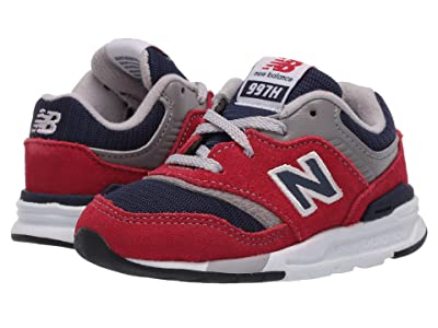 New Balance Kids 997H Essentials (Infant/Toddler) (Team Red/Pigment) Boys Shoes