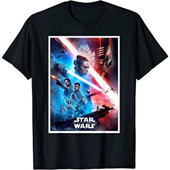 Amazon Com Star Wars The Rise Of Skywalker Poster T Shirt Clothing