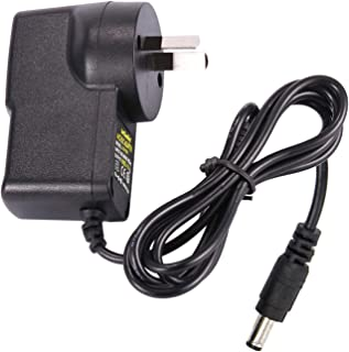 CFSadapter AC DC 9V 1A Power Supply Adapter 1000mA Wall Charger 1000mA Power Adapter 9 Volt 5.5mm x 2.5m/2.1mm for ADSL Ro...
