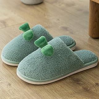 NXYJD Zapatillas De Invierno para Mujer, Zapatos Cómodos, Bonitos, Antideslizantes, Suaves, Cálidos, para El Hogar, para I...