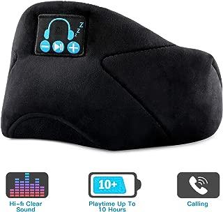 Bluetooth Sleeping Eye Mask Sleep Headphone, Wireless Bluetooth 5.0 Sleep Headphones Built-in Speakers Microphone Handsfree Adjustable Washable, Bluetooth Eye Mask for Sleeping, Travel, Yoga