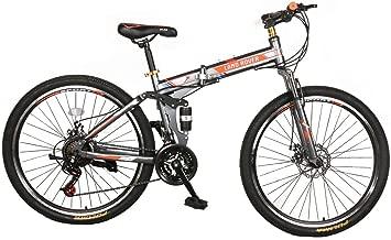 دراجة جبل من فيرانو 66 سم   21 سرعة  إطار من الفولاذ الكربوني المتين من لاند روفر