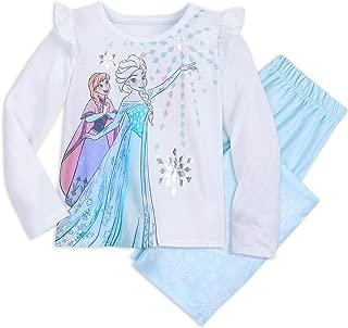 Elsa and Anna Pajama Gift Set for Kids Multi