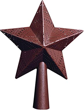 """Park Designs Red Star 9"""" Tree Topper"""