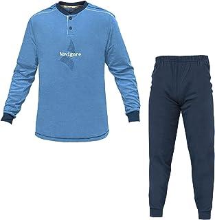 Navigare Pigiama Uomo Cotone Jersey 3 Colori Serafino Art.140744