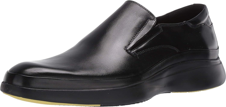 Kenneth Cole New York Men's Mello Slip On Loafer, Black, 7.5